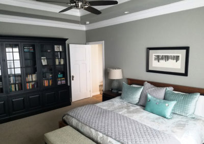 Anew Home Staging of Master Bedroom in De Pere, WI