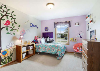Anew Home Staging of Child's Bedroom in De Pere, WI
